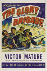 The Glory Brigade 1953 DVD  - Victor Mature / Alexander Scourby